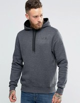 The North Face Hoodie With Hood Logo In Dark Grey