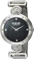 Versus By Versace Women's Sunnyridge Quartz Stainless Steel Casual Watch, Color:Silver-Toned (Model: SOL080016)