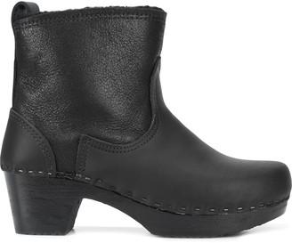"""NO.6 STORE 5"""" Shearling Clog boots"""