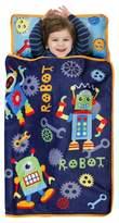 Baby Boom Robots Nap Mat Blue (Toddler)