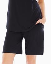 Soma Intimates Bermuda Pajama Shorts Black