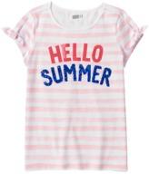 Crazy 8 Stripe Hello Summer Tee