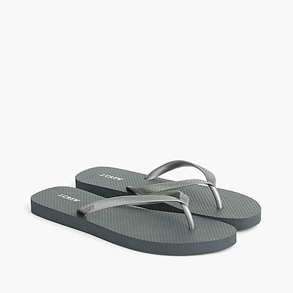 J.Crew Skinny classic flip-flops