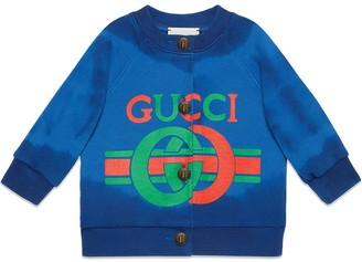 Gucci Kids logo printed sweatshirt