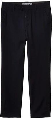 Appaman Adaptive Kids Suit Pants (Little Kids/Big Kids) (Navy) Boy's Casual Pants