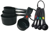 OXO Plastic Measuring Cups and Spoon set - Black