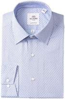 Ben Sherman Mini Floral Clip-On Tailored Slim Fit Dress Shirt