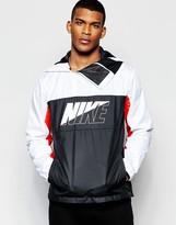 Nike Av15 Hooded Jacket In White 804334-100