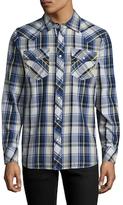 True Religion Western Checkered Sportshirt