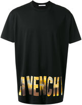Givenchy logo print Columbian-fit T-shirt - men - Cotton - XS
