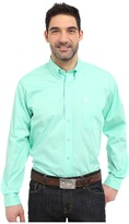Cinch Long Sleeve Button Down Solid
