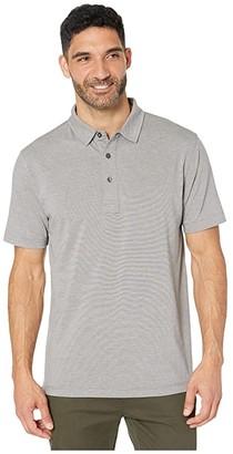 Linksoul LS121 - Avila Short Sleeve Polo (Gravel) Men's Clothing
