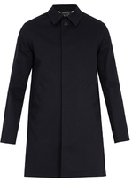 A.p.c. Boston Double-faced Cotton-gabardine Coat