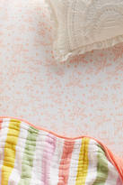 Anthropologie Cotton Muslin Crib Sheet