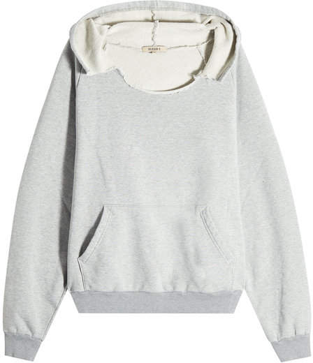 Yeezy Distressed Cotton Hoodie