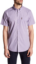 Ben Sherman Short Sleeve Diamond Trim Fit Shirt