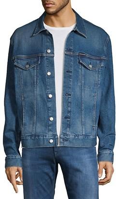 Calvin Klein Jeans Foundation Trucker Denim Jacket