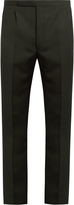 Raf Simons Slim-fit wool trousers