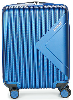 American Tourister MODERN DREAM 55CM 4R women's Hard Suitcase in Blue