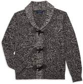 Andy & Evan Little Boy's Toggle Cotton Cardigan