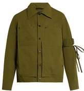 Craig Green Double-patch pocket cotton-blend field jacket