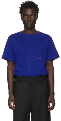Eckhaus Latta Blue Lapped T-Shirt