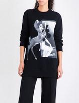 Givenchy Bambi-print cotton-jersey sweatshirt