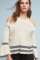 Knitted & Knotted Leandre Open-Shoulder Top