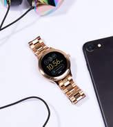 Fossil Q Ftw6000 Venture Bracelet Smart Watch In Rose Gold