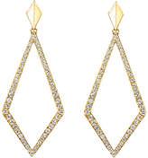 Diamond & Gold Kite Earrings