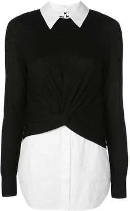 Veronica Beard Double Layer Jumper
