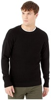 G Star G-Star Fisher R Knit Long Sleeve (Dark Black) Men's Clothing