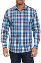 Robert Graham Men's Hiran Plaid Sport Shirt