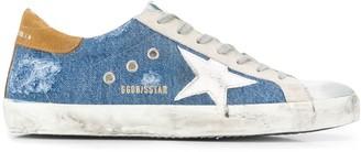 Golden Goose Super Star denim sneakers
