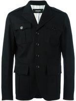 DSQUARED2 peaked lapel shirt jacket