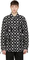 Kokon To Zai Black Monogram Latin Jacket