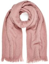 River Island Womens Light pink super soft scarf