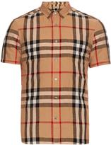 Burberry Short-sleeved house-check shirt