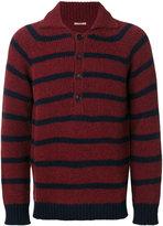 Nuur striped button-collar jumper - men - Acrylic/Nylon/Alpaca/Merino - 48
