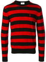 Ami Alexandre Mattiussi Ami de Coeur striped sweater