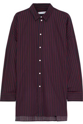 IRO Camille Striped Cotton-poplin Shirt