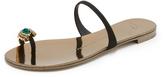 Giuseppe Zanotti Embellished Toe Sandals