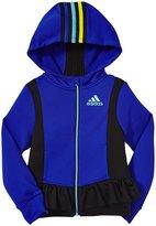 adidas Twirl Trainer Jacket (Toddler/Kid) - Bright Pink-3T