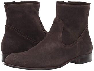 John Varvatos Seagher Zip Boot (Espresso) Men's Shoes