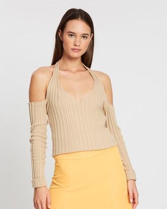 Paris Georgia Halter Knit Top