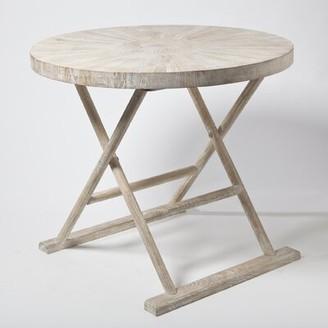 Studio A Home Driftwood Loft End Table Studio A Home