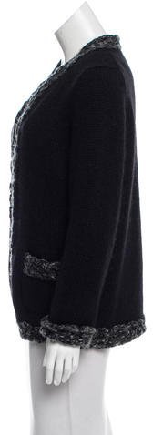 Chanel Oversize Knit Cardigan