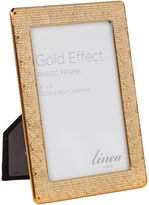 Linea Gold honeycomb frame 4x6