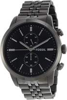 Fossil Men's FS4786 Townsman Analog Display Analog Quartz Grey Watch
