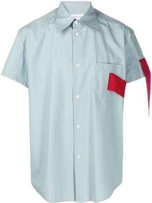 Namacheko Wuuti tape detail shirt